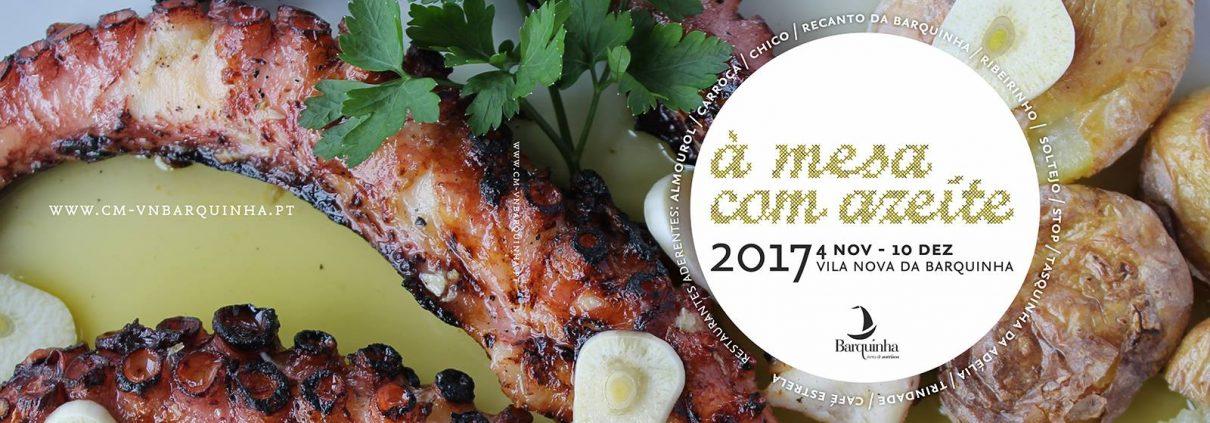 À mesa com azeite 2017